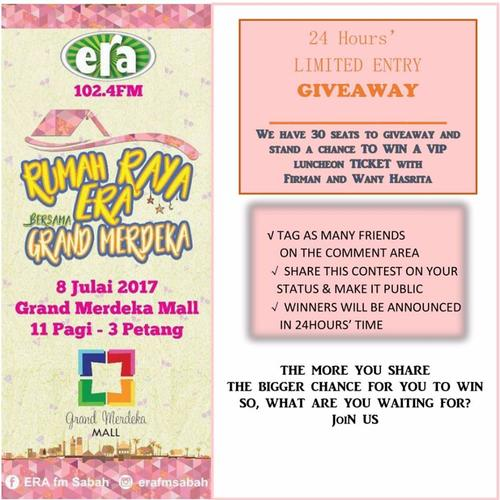 Win VIP Luncheon Ticket