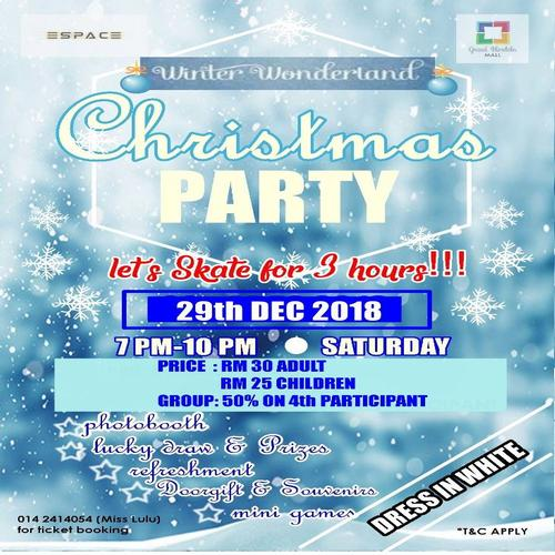 Winter Wonderland Christmas Party 2018