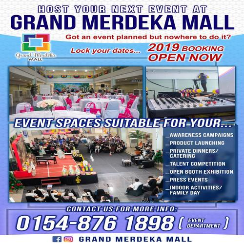 Host Your Event At Grand Merdeka Mall