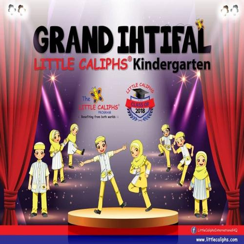 Grand Ihtifal - Little Caliphs Kindergarten 2018