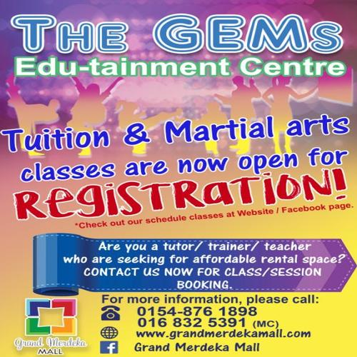 The Gems Edu-tainment Centre is now open!