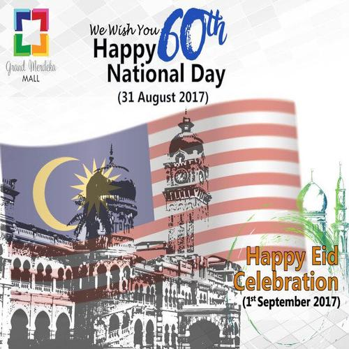 Happy National Day and Happy Eid Celebration
