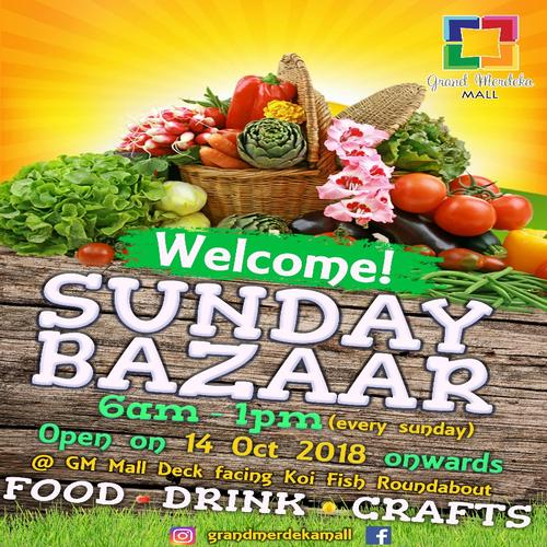 Welcome! SUNDAY BAZAAR