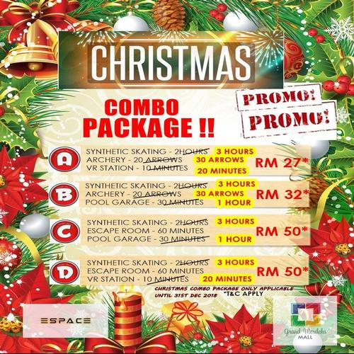 Christmas 2018 Combo Package!! - ESPACE