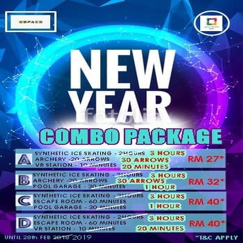 ESPACE - New Year Combo Package 2019